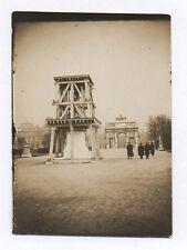 PHOTO PARIS La Bastille Jacques Boyer Statue Gloria victis Carrousel 1918