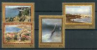 Romania 2017 MNH Marine Landscapes Paintings Ghiata Grigorescu 4v Set Art Stamps