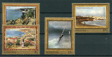 Romania 2017 MNH Marine Landscapes Paintings Ghiata Grigorescu 4v Set Art Stamps