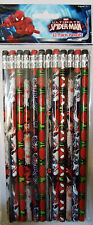 Spiderman Pencils - Party Favors/School/ Or Just Fun!  - 12 pack