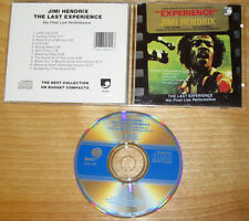 Jimi Hendrix The Last Experience Live CD Early Pressing 1987 The Final JHE Show