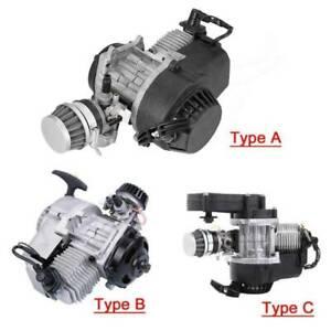 49CC 2-Takt Motor Dirt Bike Cross Pocketbike Kinderquad Mini Getriebe Vergaser