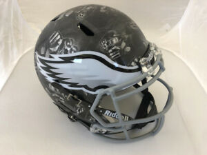 Philadelphia Eagles Uniquely Designed Hydro Dipped Full-Size Speed Helmet