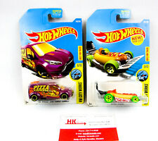 Hot Wheels: City Works: Transit Connect #143 & Street Wiener #331 - Qty 2   NEW