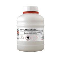 500ml Acetic Acid 99.85% Certified Food Grade 500ml - High Purity Ethanoic Acid