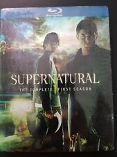 Supernatural: The Complete First Season Blu-ray Disc 2010 4 Disc Set