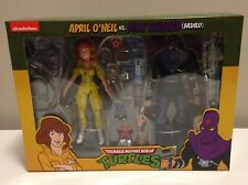 Neca APRIL O'NEIL Foot Soldier 2-pack IN HAND! Teenage Mutant Ninja Turtles TMNT