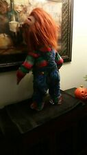 LIFE SIZE CHUCKY DOLL (BRIDE OF CHUCKY OVERALLS AND SWEATER)