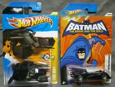 Hot Wheels 2012 Batman The Bat 27/50 & The Brave And The Bold Batmobile 02/08