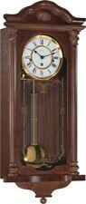 Hermle Fulham Mechanical Regulator Wall Clock - Walnut - Westminster Chime