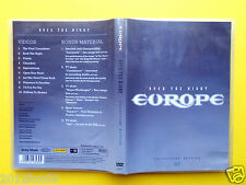 dvds europe rock the night the final countdown videoclip rare dvd 2004 carrie gq