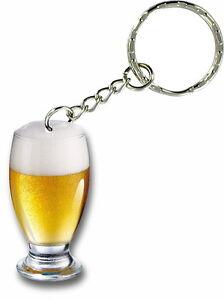 Keychain key ring keyring car motorcycle beer pub vintage funny brew bottle