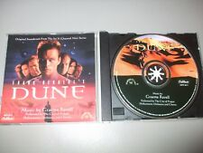 Dune - Original Sci Fi Channel Mini Series Soundtrack (CD) 27 Tracks - Very Rare