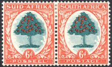 South Africa 1933-48 6d green & vermilion, type II, SG.61c mint, cat.£45
