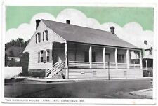 Postcard The Guibourd House in Ste. Genevieve, Missouri~104945