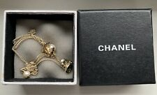 Chanel CC Logo Pearl Necklace