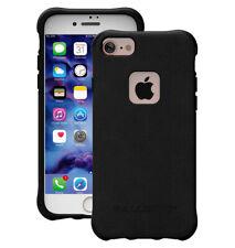 Ballistic iPhone 7 Plus and 8 Plus Thin Lightweight Leather IMD TPU Case Black