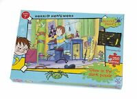 Horrid Henry Glow In the Dark 250pc Jigsaw Puzzle 'Horrid Homework'