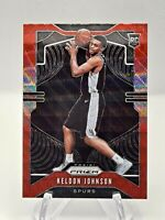 KELDON JOHNSON 2019-20 Panini Prizm Ruby Red Wave RC #273 Rookie Spurs B14