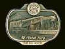 "SP FPMW 7070 RAILROAD WRECKING CRANE ""BIG HOOK""#264/300 belt buckle solid bronze"