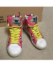 RARE! Puma Yo MTV Raps First Round Size 8.5 mens vintage HI-TOP pink white shoes