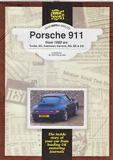 PORSCHE 911 911SC CARRERA TURBO CABRIOLET & CS (1980-92) PERIOD ROAD TESTS BOOK