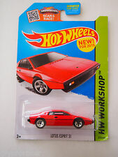 HOT WHEELS 2015 ISSUE LOTUS ESPRIT S1 RED