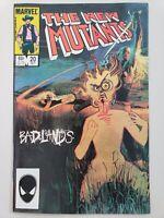 THE NEW MUTANTS #20 (1984) MARVEL COMICS DEMON BEAR! BADLANDS! BILL SIENKIEWICZ