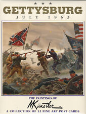 "Mort Kunstler Collectible ""Gettysburg: July, 1863"" Postcards"