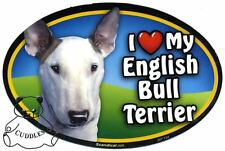 I Love My Border Collie Dog Car Magnet Scandical Heart Pup Realistic Pet Fun NWT