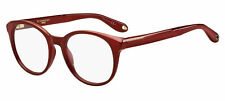 NEW AUTHENTIC GIVENCHY GV 0083 C9A Red Women Eyeglasses 49mm 18 145