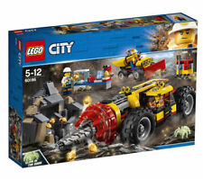 LEGO 60186 City Mining Heavy Driller 2018 Building Kit 294pcs Fast Free Shipping