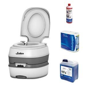 Enders Campingtoilette DELUXE mobile Chemietoilette WC Eimer Reise Klo Toilette