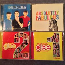 Assorted CD's  AB FAB Glee Queer as Folk