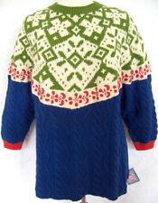 Hüftlange Damen-Pullover & -Strickware mit grober Strickart Plattenform L