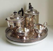Vintage Viners Of Sheffield 5 Peice Tea Set EPNS A1