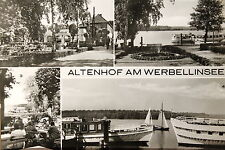 24901 AK Altenhof am Werbellinsee Kr. Eberswalde DDR Rest. Seeblick Anlegestelle