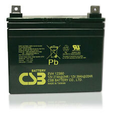 CSB/Hitachi EVH 12390 12V 39AH U1 DeepCycle AGM Solar Battery Replaces 33,34,35a