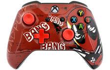 """""""Bang Bang"""" Xbox One S Custom UN-MODDED Controller Unique Design"""