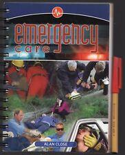 258 page First Aid EMERGENCY CARE Handbook Alan Close LIFE AID EC