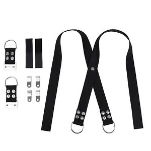 Heavy Duty Nylon Webbing Shoulder Straps for IST HHWB Weight Belt