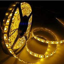 5M Yellow LED Strip Light 5050 SMD Waterproof 300Led Tape 60led/m DC 12V 16.4ft