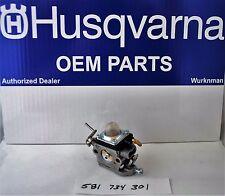 Husqvarna OEM 581734301 String Line Trimmer Carburetor AKA 574386701 122C 122LDX