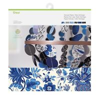 Cricut Deluxe Paper Anna Griffin Toile Heritage 12 x 12 Card Stock New