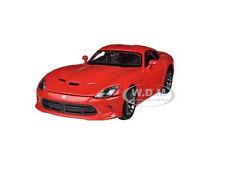 2013 DODGE VIPER SRT GTS RED 1/24 DIECAST MODEL CAR BY MAISTO 31271