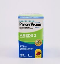 PreserVision Areds 2 Eye Vitamin and Mineral - 120 Softgels Exp 06/2022
