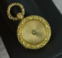Well Made Georgian era Solid 14ct Gold Locket Pendant