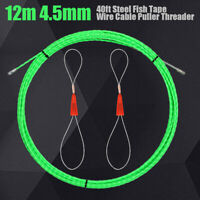 S5T8 10M 33Ft Electrical Wire Threader Cable Running Rods Fish Tape Pulling