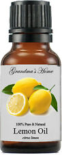 Lemon Essential Oil - 15 mL - 100% Pure and Natural - Free Shipping - Us Seller