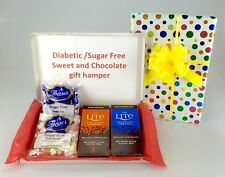 Sugar Free Sweets Chocolate Deluxe Hamper Christmas Birthday Diabetic No Added